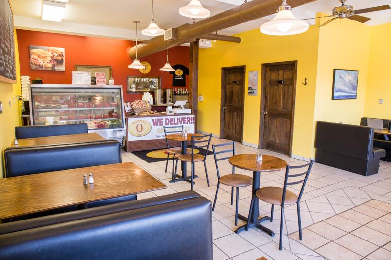 Winston Salem Deli offers Food Delivery Service Inside Restaurant